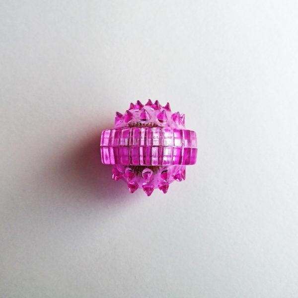 массажный шарик су джок лапонька фиолетовый