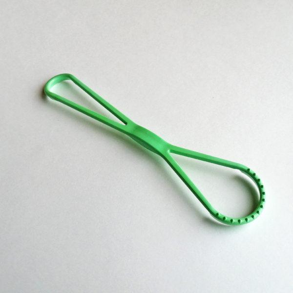 Массажер-очиститель для языка (Зеленый)