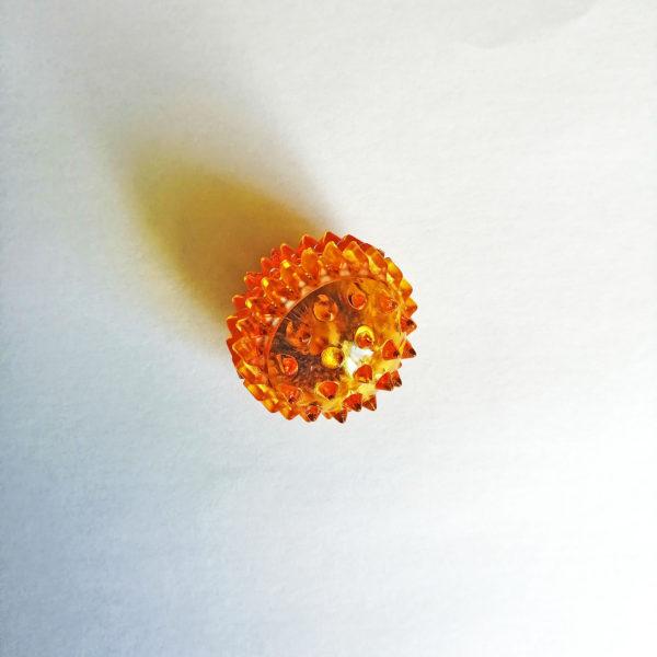 массажный шар су джок оранжевый